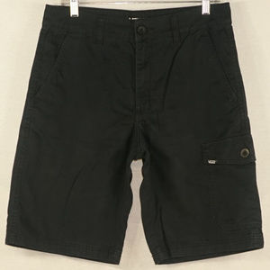 Vans off the wall blue cargo shorts like new 30